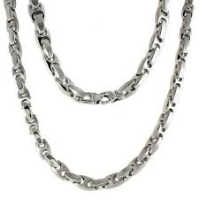 stainless steel link necklace images Mens stainless steel necklaces necklace jpg