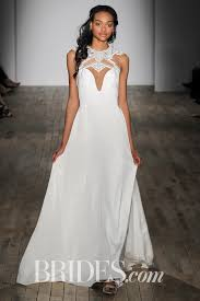 peter langner strapless jumpsuit paired with tulle illusion t