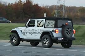 jeep wrangler unlimited sport top off mega gallery 2018 jeep wrangler jl seen from every angle off