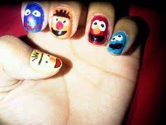elmo toes sesame street nail art beauty pinterest elmo