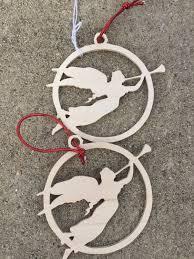 trumpet ornaments set of 2 trumpet ornaments