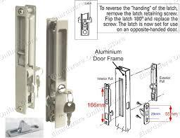 sliding glass door latch replacement changing sliding glass door lock saudireiki