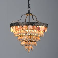Capiz Light Pendant Capiz 3 Lights Pendant Light 5 Tiers Trumpet Shell Westmenlights