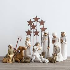nativity sets awe and willow tree nativity set dayspring