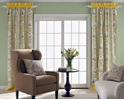 Patio Door Window Panels Window Treatments For French Sliding Doors Day Dreaming And Decor