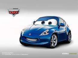 nissan renault car disney cars nissan 370z by yasiddesign on deviantart