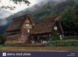 country houses country houses with gossho zukori thatched roof in the mountain