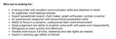 one candidate u0027s hilarious snapchat job application linkedin
