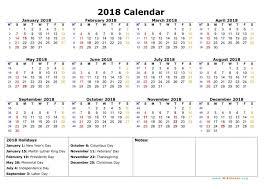 cute 2018 calendar free calendar 2018