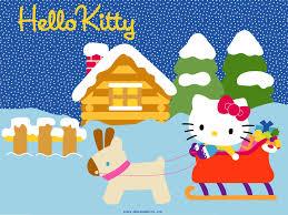 hello kitty halloween background hello kitty winter wallpaper wallpapersafari