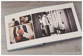 photography albums wedding albums showing different layouts nick