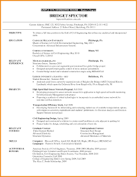 Best Resume Format For Students Fair Post Graduate Resume Example For Your Job Resume Examples For