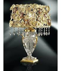 Crystal Chandelier Table Lamp Crystal Chandelier Table Lamps U2013 Eimat Co