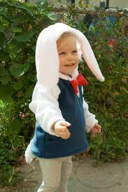 white rabbit halloween costume baby u0026 toddler white rabbit hoodie costume vest jacket
