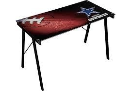 Dallas Cowboys Room Decor Nfl Huddle Team Dallas Cowboys Desk Desks Black Colors