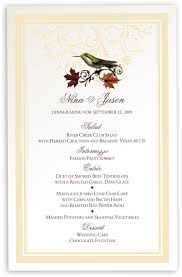 beef tenderloin menu dinner party wedding menu cards u0026 dinner party menu cards shop menus for