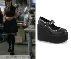 Ncis Abby Halloween Costume Shop Tv Ncis Season 13 Episode 6 Abby U0027s Black Platform Shoes