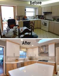 before u0026 after a mid century kitchen goes modern mosby building