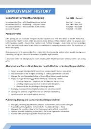 Aged Care Resume Sample by Fun Resume Templates
