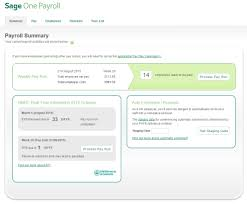 sage one payroll detailed sage software information