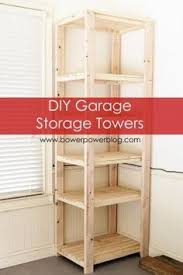 How To Build Garage Storage Shelving by Great Plan For Garage Shelf Do It Yourself Home Projects From