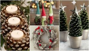 how to make ornaments out of pine cones rainforest