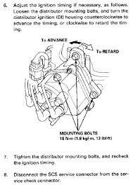 adjusting ignition timing honda tech honda forum discussion