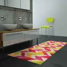 tapis de salle de bain colorado lavable en machine par arte espina