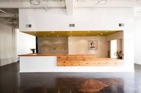 Boora Architects Boora Architects Bodyvox Center Reception Desk