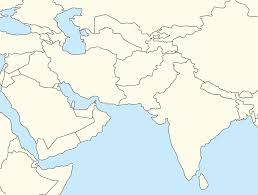 Blank Maps Of Asia by Blank Map Of Southwest Asia Roundtripticket Me