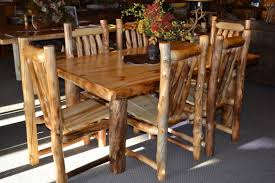 Log Dining Room Table Dining Table