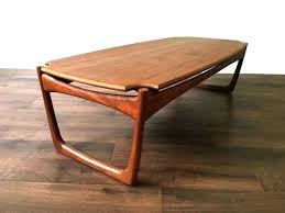 large vintage coffee table teak wood coffee table arealive co