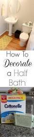 how to decorate a half bath budget savvy diva