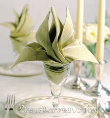 Decorative Napkin Folding 101 Best Napkin Folding Images On Pinterest Folding Napkins
