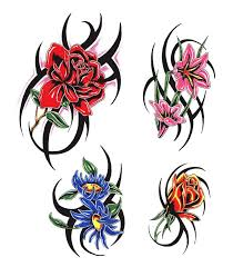 the 25 best tribal flower tattoos ideas on pinterest tribal
