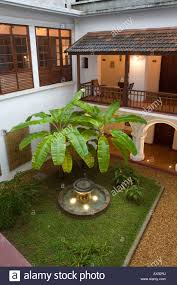 private inner courtyard in old harbour hotel a 300 year old