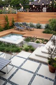 Best 25 Pebble Patio Ideas On Pinterest Landscaping Around by Best 25 Small Backyard Landscaping Ideas On Pinterest Trellis