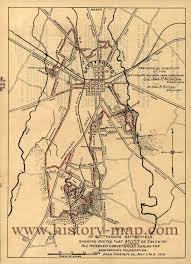Gettysburg Pennsylvania Map by Centennial Exhibition At Philadelphia 1876