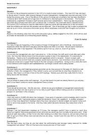 resume templates for administrative officers exams 4am 2 business english
