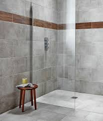 Grey Tile Bathroom by Dark Grey Walls Light Grey Floor Mosaic Tiles Zamora Grey Wall
