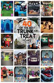 40 of the best trunk or treat ideas a and a glue gun