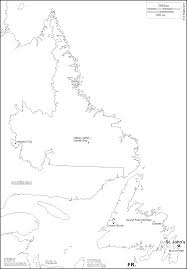 Canada Blank Map by Newfoundland And Labrador Free Map Free Blank Map Free Outline