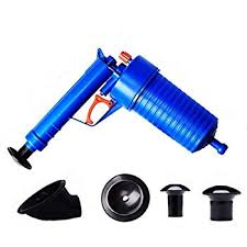 Silverline Pistolet de débouchage  tige flexible 6 mm x 6 m