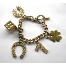 bracelet lucky images Vintage lucky charm bracelet perfect casino wear the lantern jpg