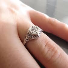 1 4 carat engagement ring antique 1 4 carat white gold engagement ring spexton