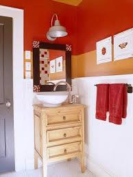 Red Bathroom Designs Colors Best 25 Orange Bathrooms Designs Ideas On Pinterest Orange