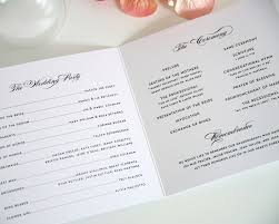 wedding program exles wording wedding ceremony programs wording exles picture ideas references
