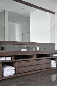 Masculine Bathroom Decor by Modern Wood Bathroom Vanity Bathroom Decoration