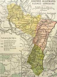Alsace France Map by Carte De L U0027alsace Lorraine En 1914 Alsace France Pinterest