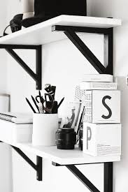 Wall Shelves Decor by Best 25 White Wall Shelves Ideas On Pinterest Floating Wall